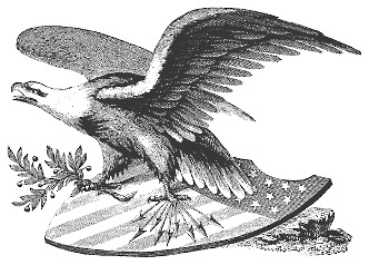Patriotic Clip Art Black And White Eagle American Flag