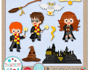 Harry Potter Clipart - Clipart Kid
