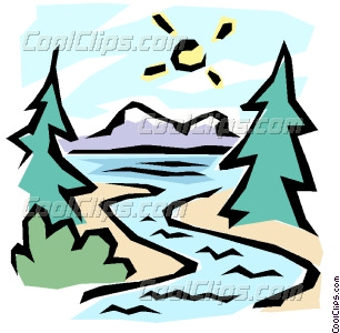 The Great Outdoors Vector Clip Art