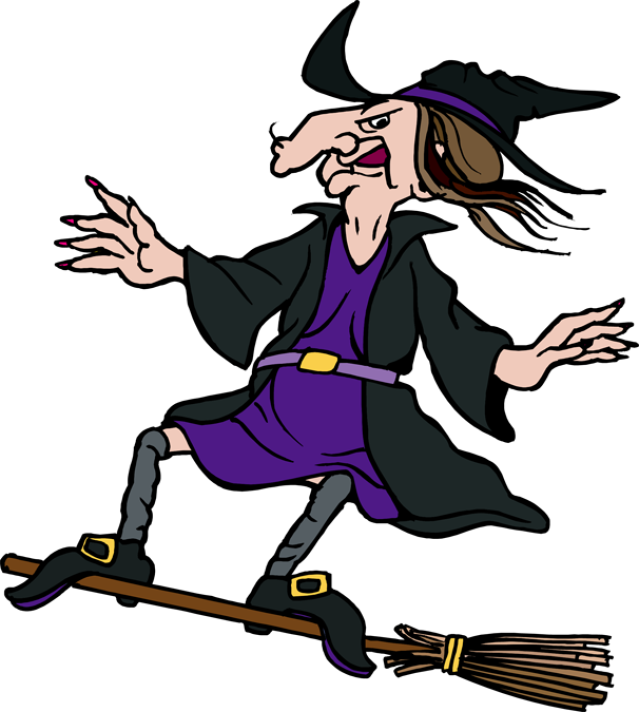 Witch Broom Clipart - Clipart Kid