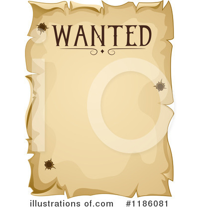 Wanted Clipart  1186081   Illustration By Bnp Design Studio