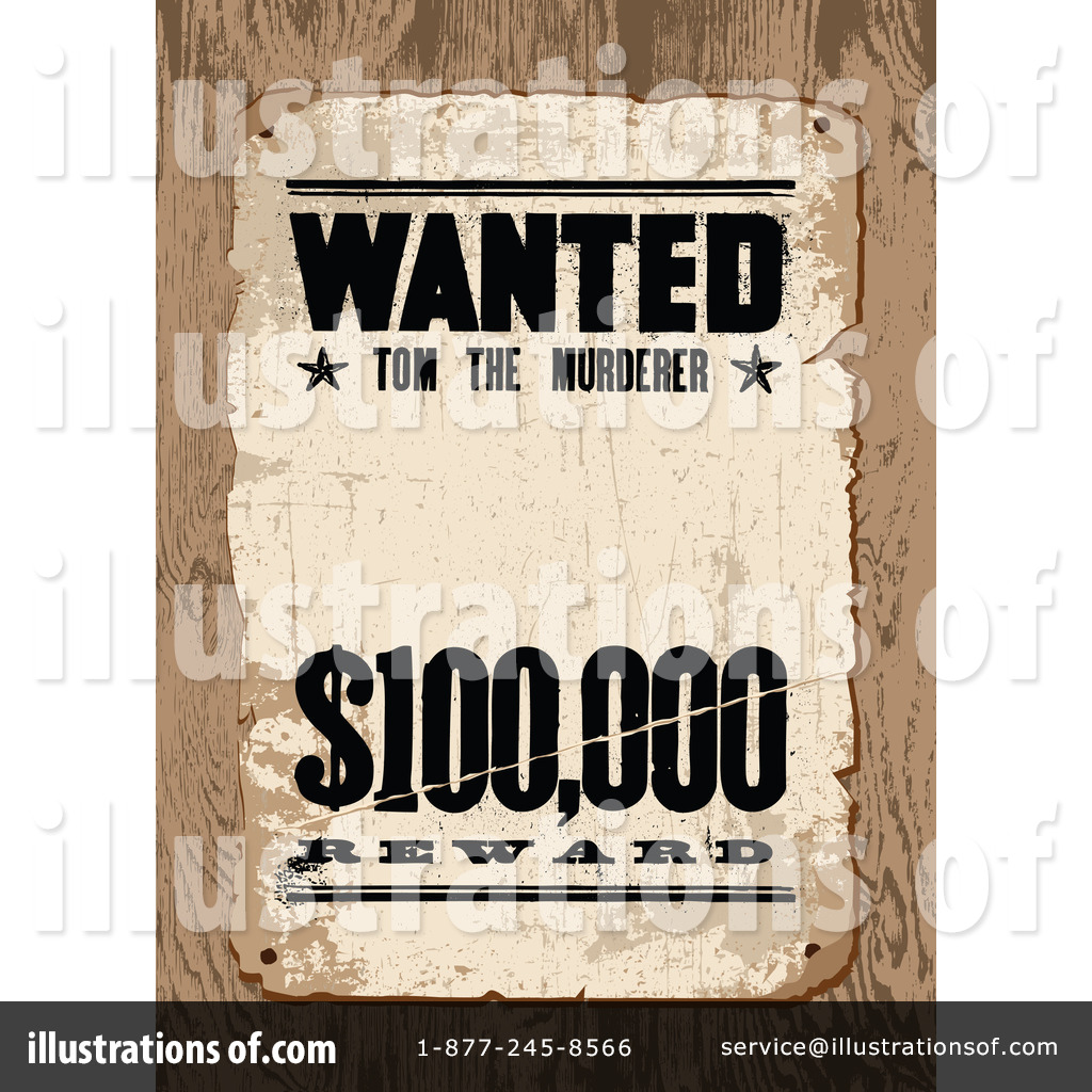 Wanted Clipart  1229753   Illustration By Bestvector
