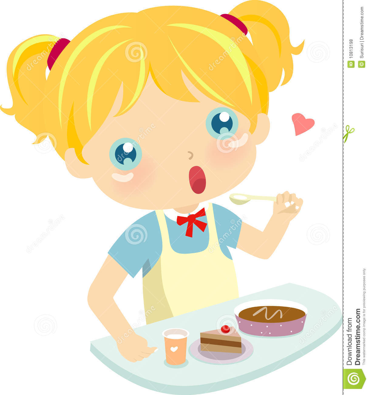 Eating Cake Clipart - Clipart Suggest
