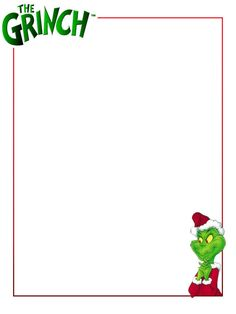 Grinch Face Clip Art The Grinch   Project Life
