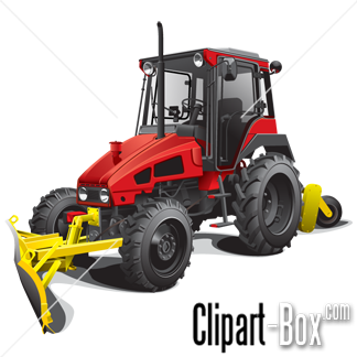 Related Snow Plow Tractor Cliparts