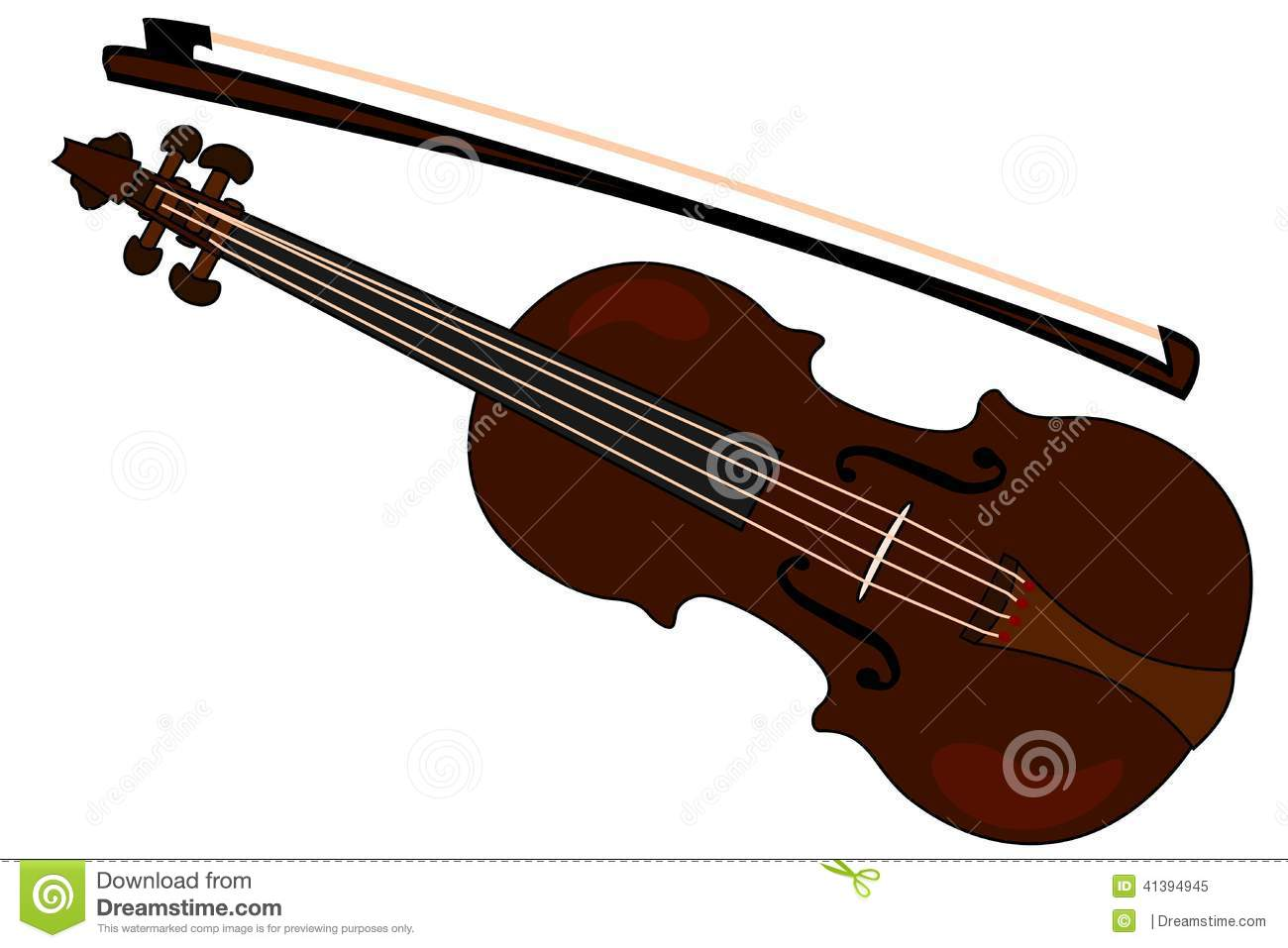Cartoon Violin Images: Clipart Suggest