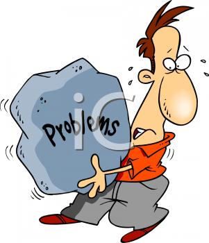 Sample Problems Clip Art