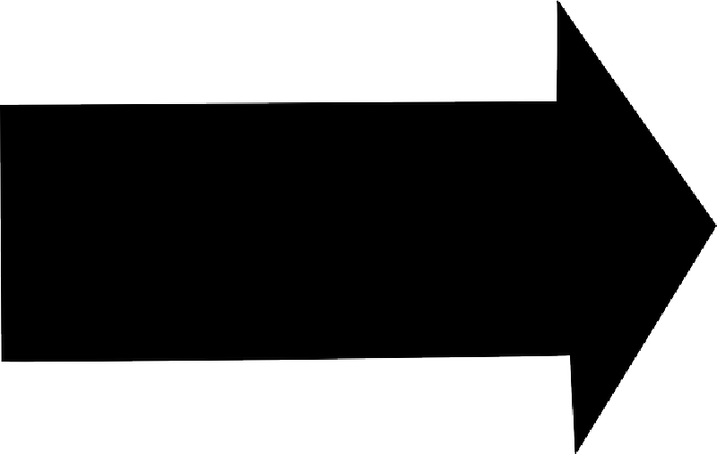 Black Arrow Pointing Clipart - Clipart Suggest