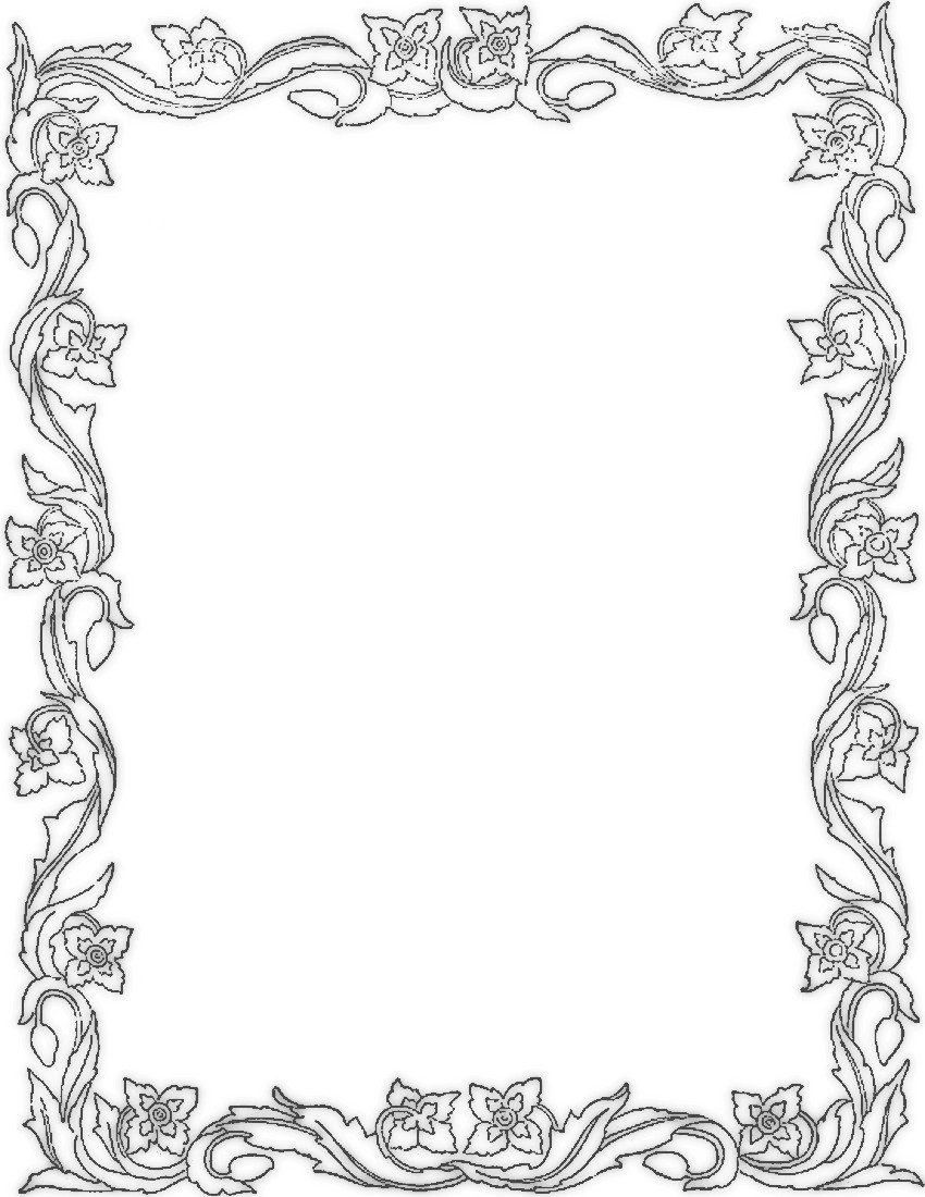Apple Borders And Frames Clipart - Clipart Kid