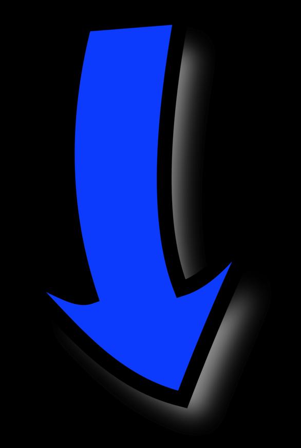 Blue Curved Arrow Clipart – Cliparts