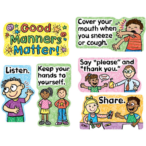 Manners For Kids Clipart Good Manners Clip Art For Kids