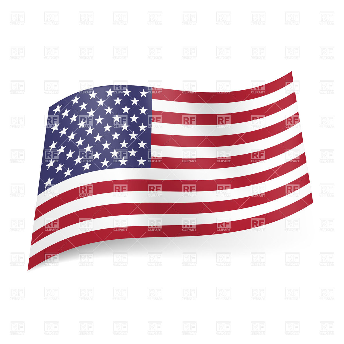 National Flag Of United States Of America 20891 Signs Symbols Maps