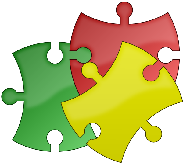 Puzzle Pieces Clip Art At Clker Com Vector Clip Art Online Royalty