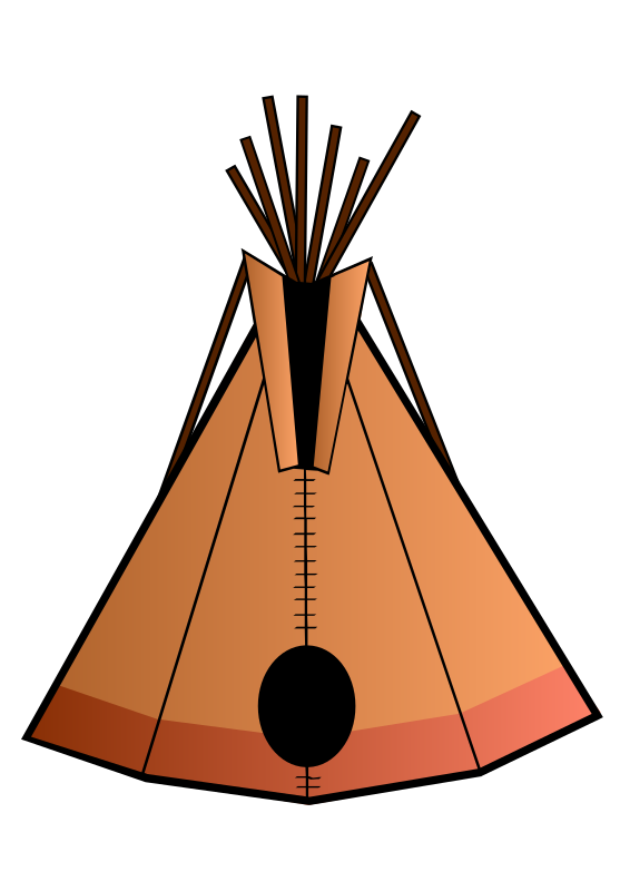 Teepee By Jules   A Teepee Illustration Over A White Background