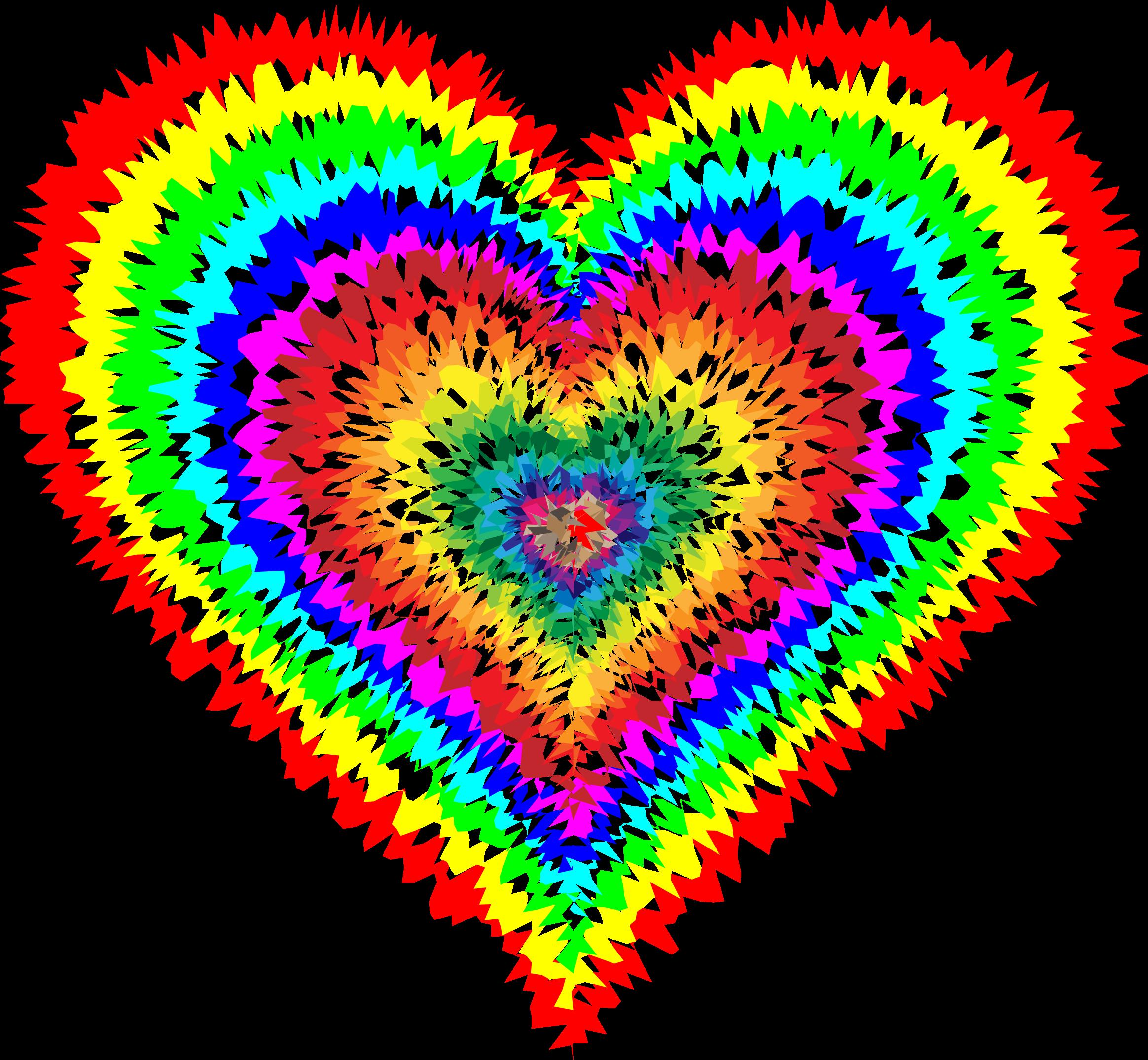 Clip Art Tie Dye Clip Art tie dye clipart kid heart by gdj