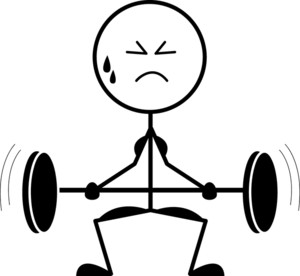 Weight Lifting Clipart