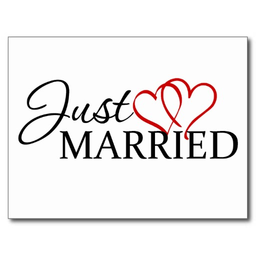 Just Married Clipart - Clipart Kid