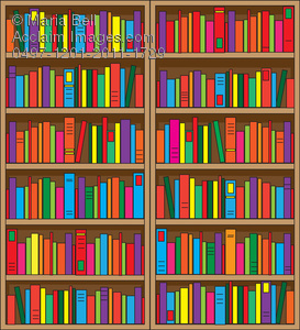Bookshelf Clipart Clipart Suggest