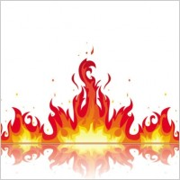 Clip Art Flames Clipart flame border clipart kid clip art free vector for download about 6 free
