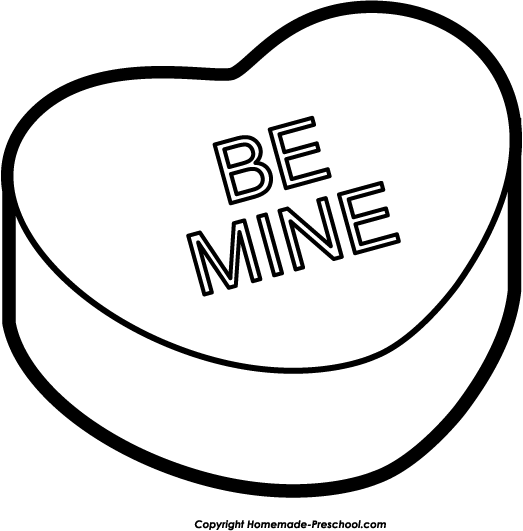 Free Clipart   Valentine Heart Clipart   Valentine Heart Be Mine