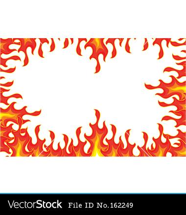 Flame Border Clipart - Clipart Kid