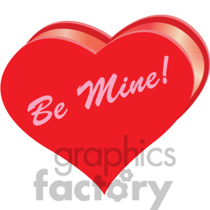 Heart Be Mine Clipart