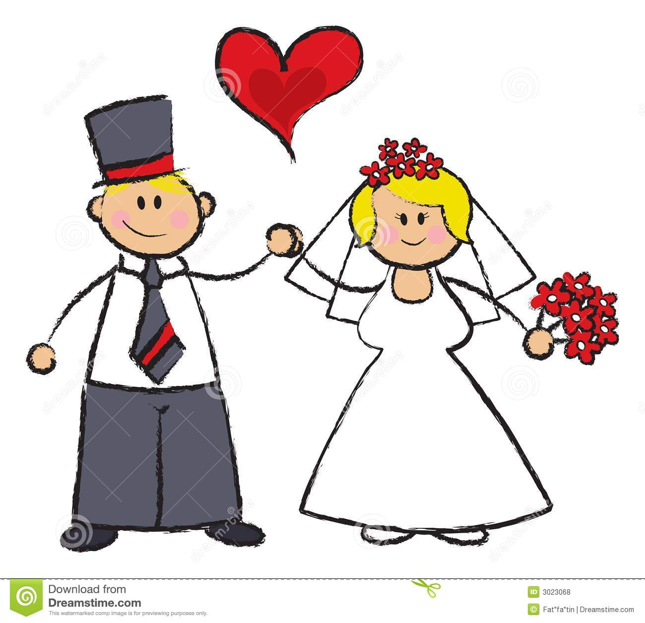 Married Clipart - Synkee