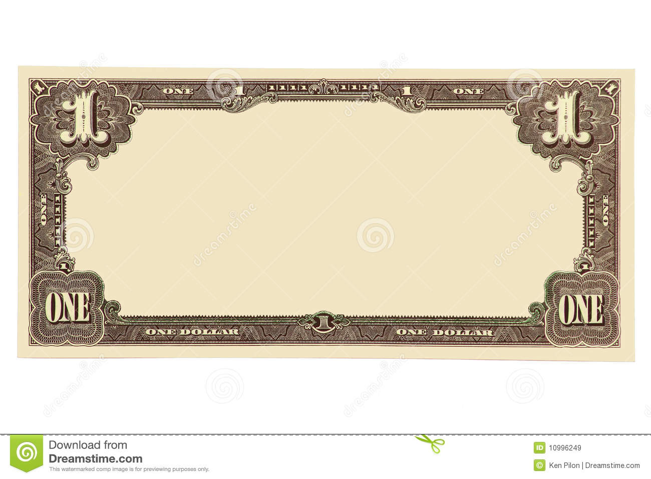 Blank Dollar Clipart Suggest