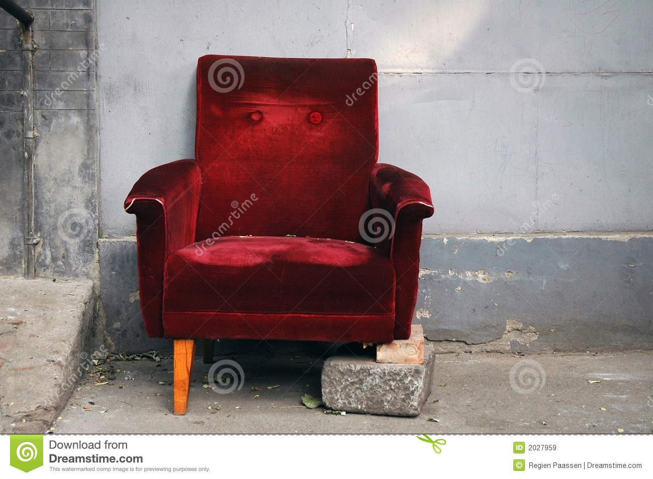 Broken Chair Royalty Free Stock Images   Image  2027959
