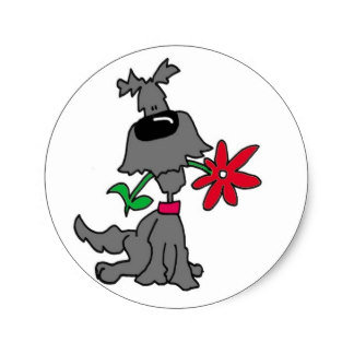 Dog Clipart Stickers And Sticker Transfer Designs   Zazzle Uk