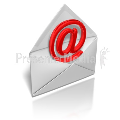 Email Envelope   Signs And Symbols   Great Clipart For Presentations
