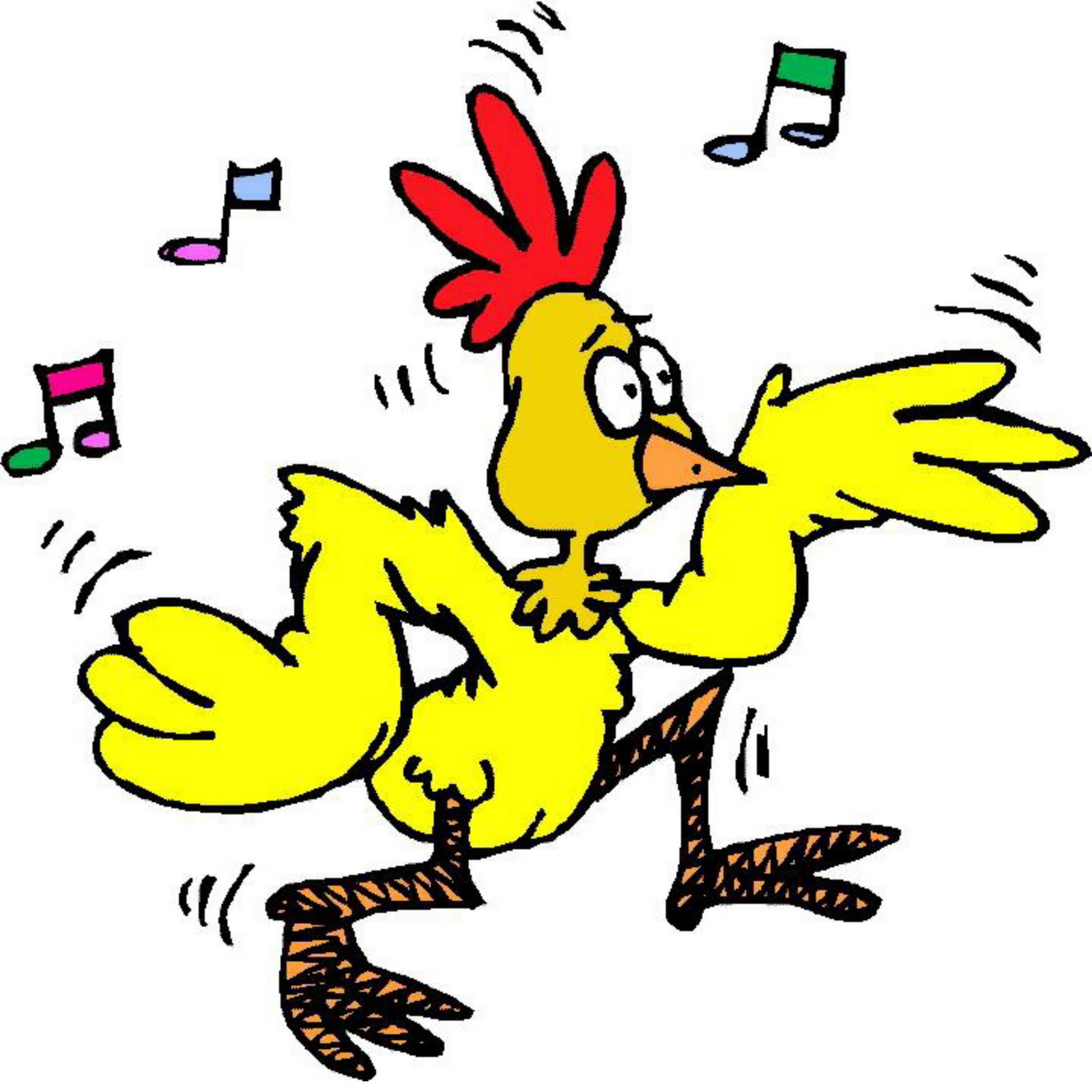 Funky Chicken Dancing Animated Gif   Clipart Best   Clipart Best