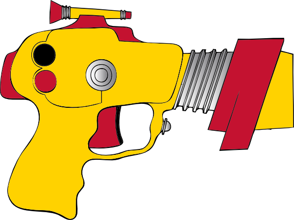 Laser Ray Gun Clip Art At Clker Com   Vector Clip Art Online Royalty