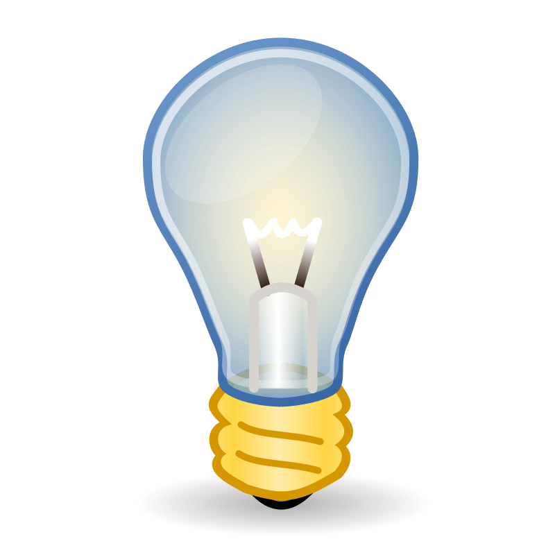 Light Bulb By Ali Alnasir   This Icon Is A Remake Of The Light Bulb