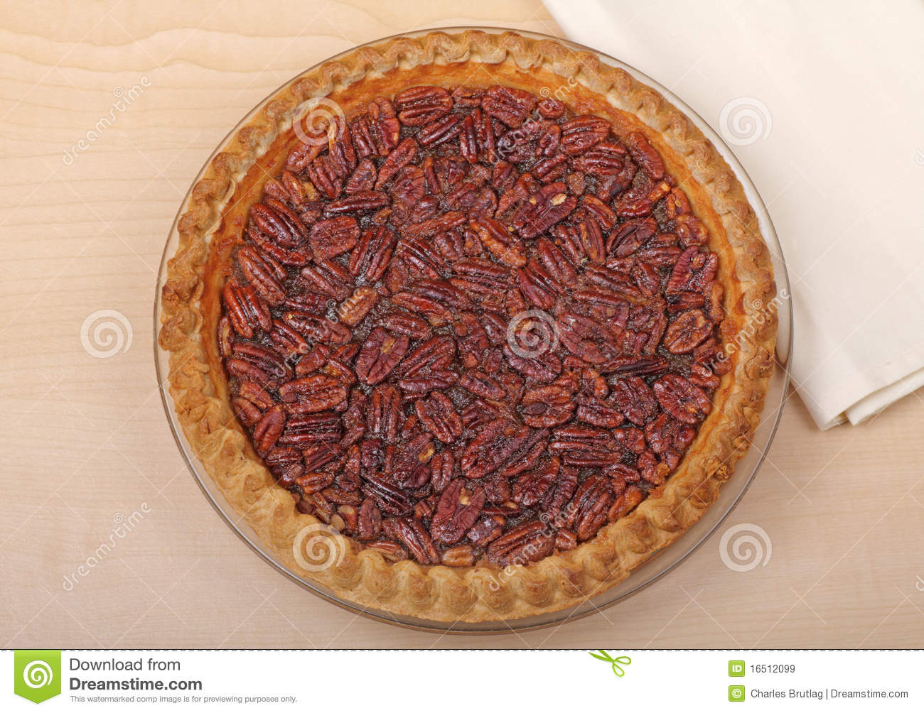 Pecan Pie Royalty Free Stock Images   Image  16512099