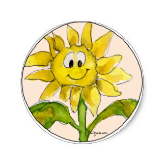 Sunflower Clipart Sticker 2