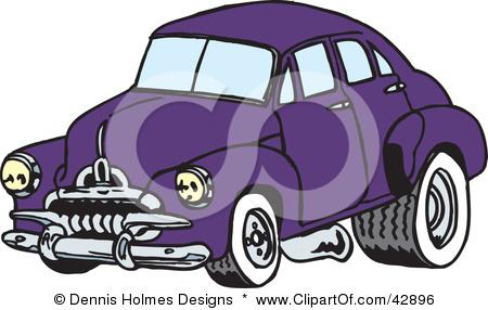 Drag racing cars clipart