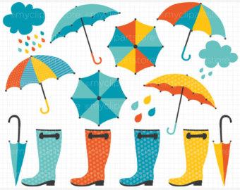 Rain Showers Clip Art