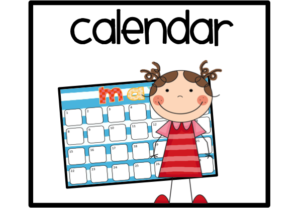 Calendar Art Kids : Calendar helper clipart suggest