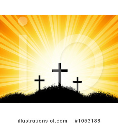 Calvary Clipart  1053188 By Kj Pargeter   Royalty Free  Rf  Stock