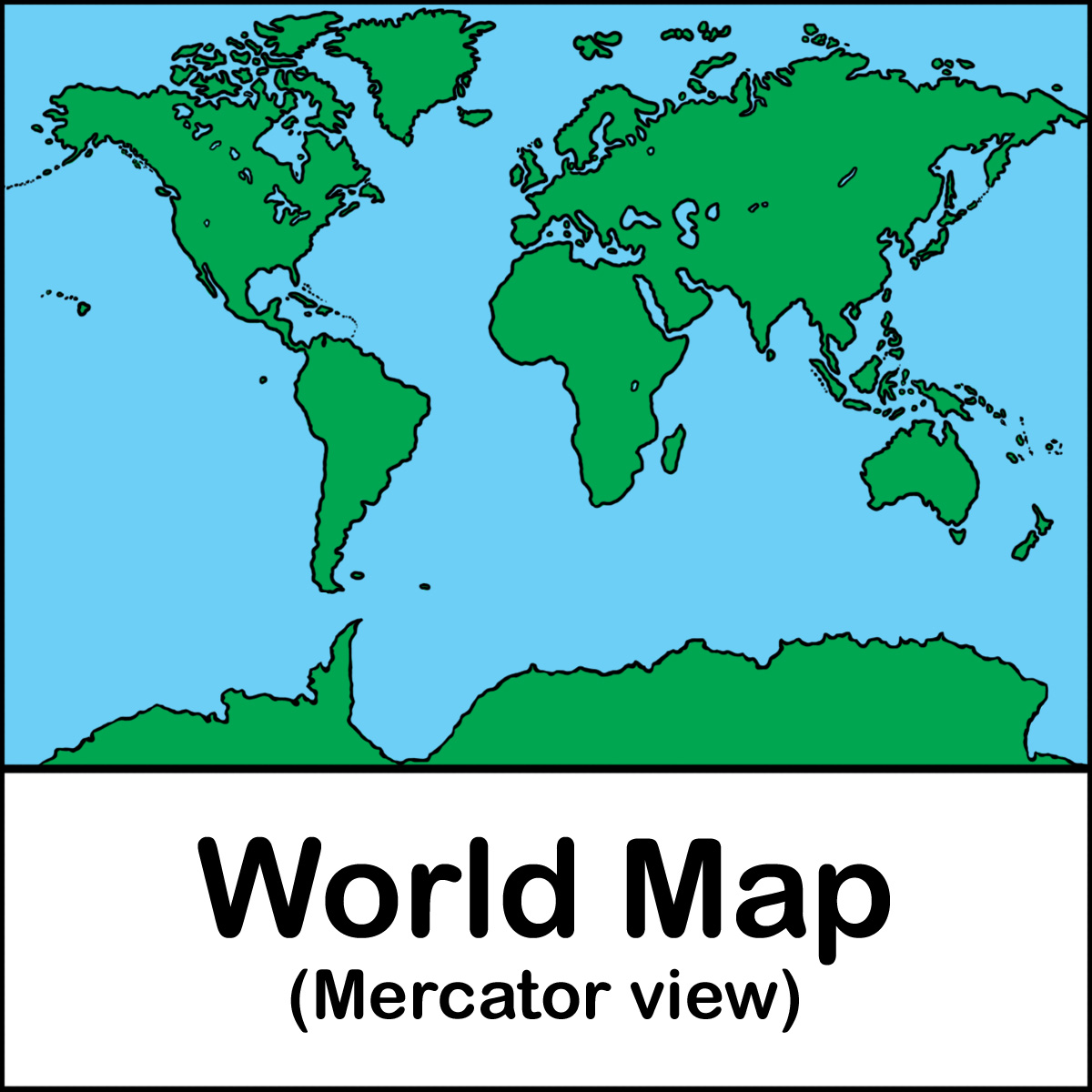 World Map Clipart - Clipart Suggest