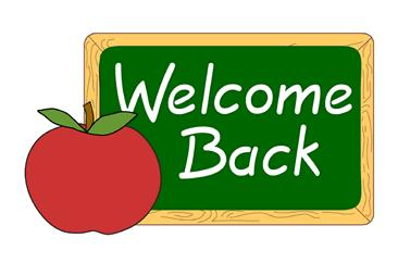 Clipart For The Website   Clipart   Welcome Back Apple