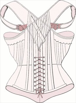 Free Corset Clipart