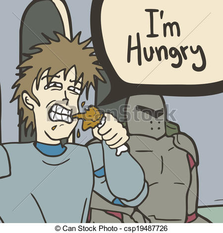 Im Hungry Clipart I M Hungry   Csp19487726