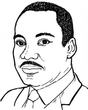Martin Luther King Junior Clipart - Clipart Kid