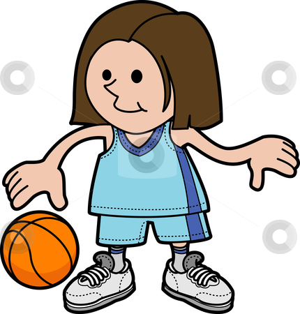 Girl Basketball Player Clipart   Clipart Panda   Free Clipart Images