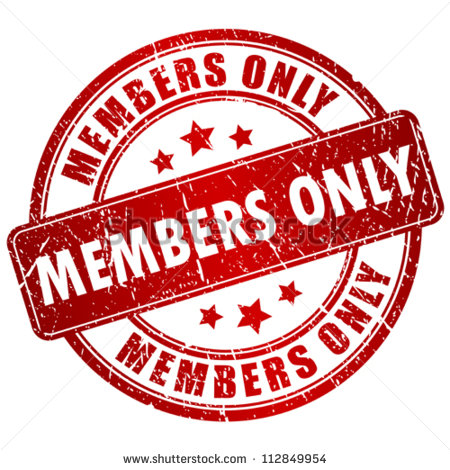 Members Only Stock Photos Illustrations And Vector Art