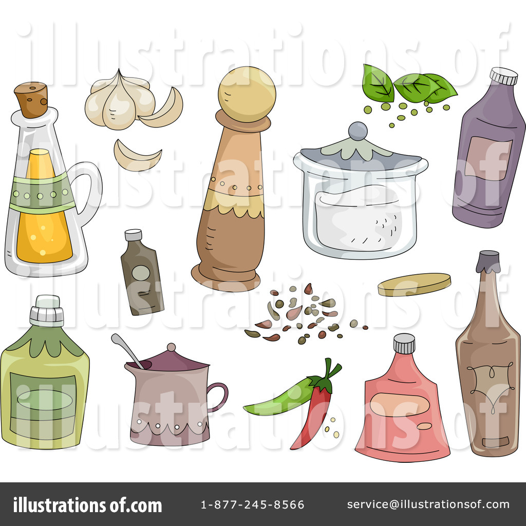 Spices Clipart  1176732 By Bnp Design Studio   Royalty Free  Rf  Stock