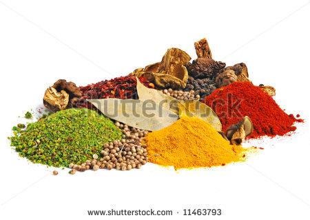 Spices Clipart Piles Of Spices  Parsley