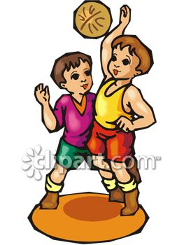 Two Boys Playing Basketball   Clipart Panda   Free Clipart Images